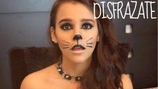 getlinkyoutube.com-Maquillaje para Halloween♥ Gato