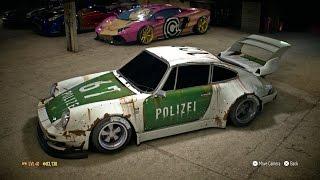 "getlinkyoutube.com-Need for Speed 2015   Top 5 Rust and Vintage Wrap Paint Job   ""Porsche 911 Carrera RSR"" Best car"