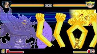 getlinkyoutube.com-All Sasuke Forms vs All Naruto Forms | Bleach vs Naruto 2.5 | Team Battles