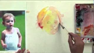 getlinkyoutube.com-Watercolor with Lian Quan Zhen: Figures