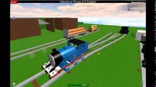 getlinkyoutube.com-ROBLOX Thomas & Friends S12 Crashes