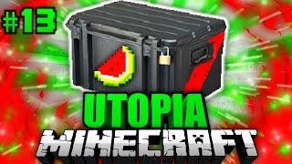 getlinkyoutube.com-Das LOOT CASE OPENING?! - Minecraft Utopia #013 [Deutsch/HD]