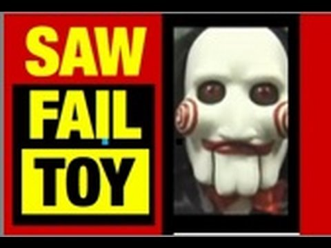 Saw Movie SHOCKING Billy Jigsaw Toy Video! FUNNY by Mike Mozart of JeepersMedia Jigsaw Puppet