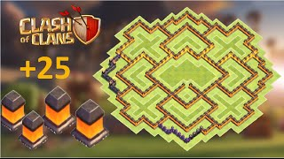 getlinkyoutube.com-Clash of Clans - BEST Town Hall 10 (th10) Farming base with 275 walls