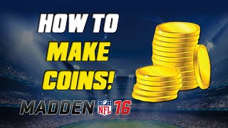 getlinkyoutube.com-How To Make Coins Fast!   Madden 16 Ultimate Team - MUT 16 Tips ep. 2