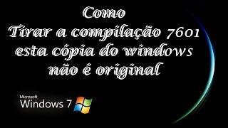 Como tirar a compilação 7601 sem usar programas 2015 (Windows 7) width=