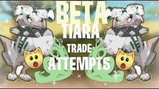 getlinkyoutube.com-Animal Jam: Beta Tiara Trading Attempts!