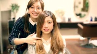 getlinkyoutube.com-【SWITCH HIAR SALON  PV3】美容室動画 バッサリカット