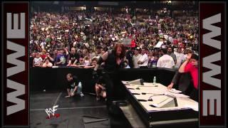 getlinkyoutube.com-Triple H, Mr. McMahon & Shane McMahon vs. The Rock, The Undertaker & Kane - WWE Championship Six-Man