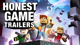 MINECRAFT STORY MODE (Honest Game Trailers)