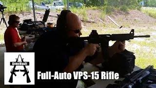 getlinkyoutube.com-Full-Auto VPS-15 Rifle from Kavod Custom