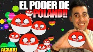 getlinkyoutube.com-EL PODER DE POLAND!! | AGAR.IO | +18000 PUNTOS | Agario | Rubinho vlc | +18K SCORE SOLO