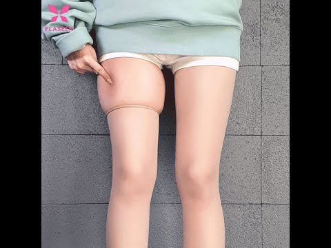 날씬한 다리 만들어주는 플레시크 압박스타킹 살색ver.