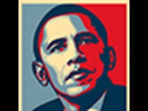 Photoshop: How to Make Obama's HOPE POSTER using your own Face.