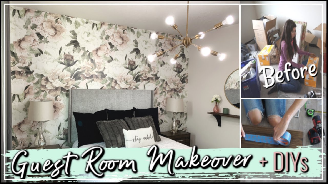 Small Bedroom Makeover + DIY Decor | Extreme Room Makeover | Before and After Transformation