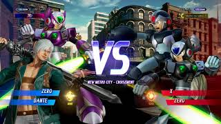 [Marvel VS Capcom Infinite] SET Matches :  UM Tyrant (Zero/Dante)  VS Ntai Kei (X/Zero)