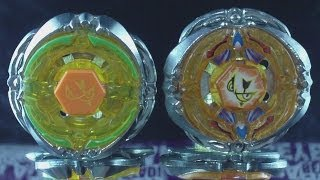 getlinkyoutube.com-Beyblade Flash Sagittario 230WD (Hasbro VS Takara Tomy) The Difference HD! AWESOME