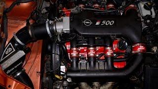 getlinkyoutube.com-Opel Vectra i500 - X30XE - erster Start