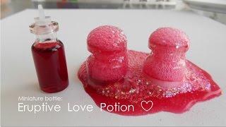 getlinkyoutube.com-Bottle Charm: Eruptive Love Potion (Valentine DIY)