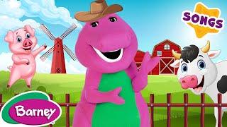 getlinkyoutube.com-Barney - Old MacDonald - Live Action (SONG)
