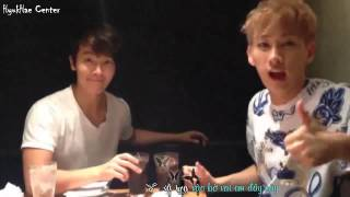 getlinkyoutube.com-[Vietsub][FMV] No No No - EunHae / HyukHae ♥ 6th Wedding Anniversary 18 ♥ 7 [Hyukhae Center]