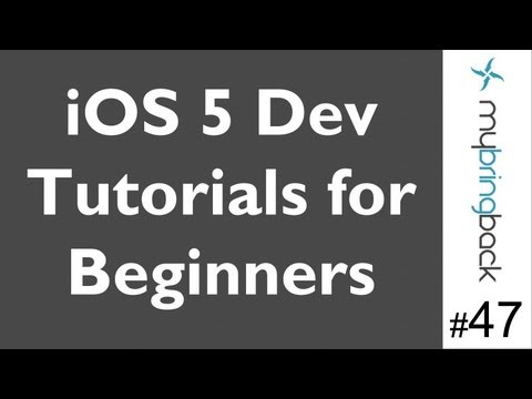 Learn Xcode 4.2 Tutorial iOS iPad iPhone 1.47 Segmented Control and Label pt1