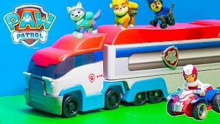 getlinkyoutube.com-PAW PATROL Nickelodeon Paw Patroller a Paw Patrol Funny Video Toys Review