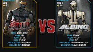 getlinkyoutube.com-Real Steel WRB Atom VS Albino NEW graphics blows