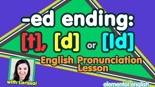 "getlinkyoutube.com-[t], [d] or [Id]? | ""-ed"" Past Tense 