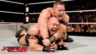 getlinkyoutube.com-John Cena vs. Ryback - Tables Match: Raw, July 29, 2013