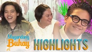 Magandang Buhay: Momshie Karla describes Daniel and JC as sons