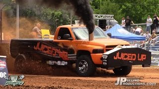 getlinkyoutube.com-2.6 Diesel Trucks pulling at TS Performance Outlaw Pull: Friday Qual. 2015: Part 2