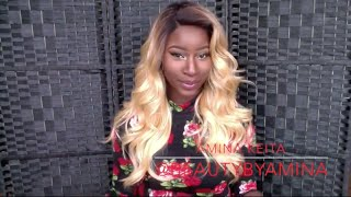 getlinkyoutube.com-BOMBSHELL HAIR UNDER $20- Outre Lace Front Wig Zenn