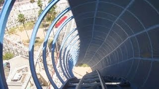 getlinkyoutube.com-California Screamin' front seat on-ride HD POV (with full audio) Disney's California Adventure