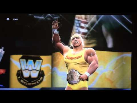 Hulk Hogan WWE 2k14 Entrance with WCW Theme Music