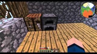 getlinkyoutube.com-Minecraft Hexxit #3 สร้างเตียงนอน
