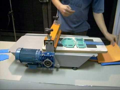 Máquinas de corte e vinco manual e elétrica - POLYMAK