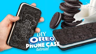 getlinkyoutube.com-DIY | How to make an Oreo Phone Case - Tutorial