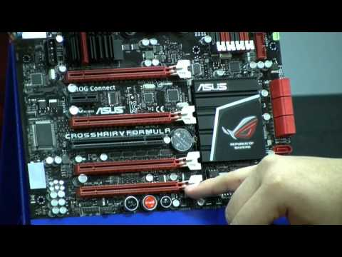 Official ASUS Crosshair V Formula Motherboard Unboxing - Episode 12