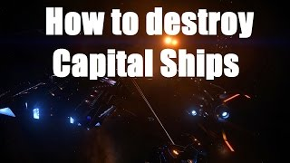 getlinkyoutube.com-Elite: Dangerous - How to Destroy Capital Ships