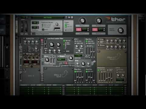 Reason 6, Thor Polysonic Synthesizer Overview
