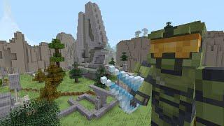 getlinkyoutube.com-Minecraft Xbox - Survival Madness Adventures - Halo Master Chief [315]