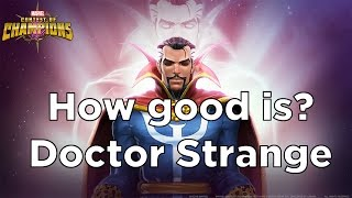 getlinkyoutube.com-How Good is Dr. Strange? Gameplay and Review [Marvel Contest of Champions]