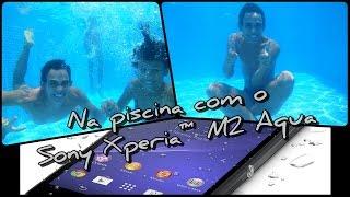 getlinkyoutube.com-Teste do Sony Xperia M2 Aqua - Water test 2