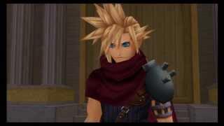 getlinkyoutube.com-Sora vs Cloud - Kingdom Hearts 1.5 HD