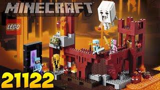 getlinkyoutube.com-МАЙНКРАФТ В РЕАЛЬНОСТИ! - LEGO Minecraft 21122 Адская крепость