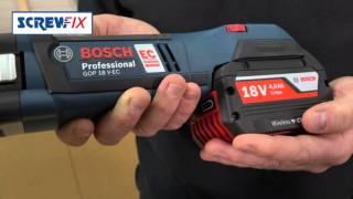 getlinkyoutube.com-Screwfix - Bosch 18v Wireless Charging 6pc Kit 3 x 4.0Ah