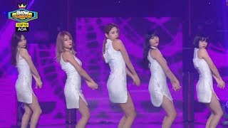 getlinkyoutube.com-AOA - Miniskirt, 에이오에이 - 짧은 치마, Show Champion 20140212