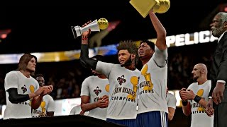 NBA 2K16 MyCAREER Playoffs - NFG4 | I Got A Really Big Team And We Want Some Really Big Rings !