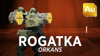 getlinkyoutube.com-Walking War Robots Rogatka Gameplay: Orkans
